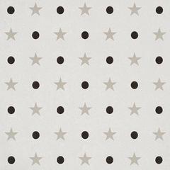 Schumacher Etoiles et Points Mid Scale Print Warm Silver Wallpaper Two Roll Set