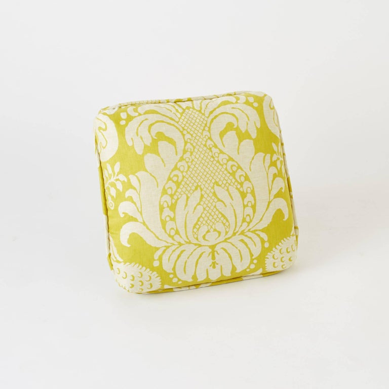 Down Schumacher Alessandra Branca Anna Damask Acid Green Two-Sided 18
