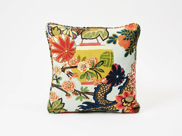 An instant hit from the moment we introduced it, this is one of our best-loved designs. The chinoiserie motif was inspired by an Art Deco print. Now featured as a decorative accent, this accessory is sure to timelessly elevate and enliven any