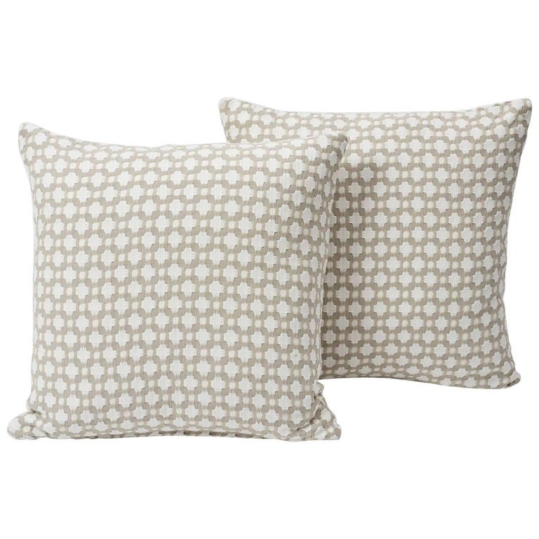 An endlessly versatile small-scale woven pattern with a handsome geometric look and an appealing, textural hand. Both classic and contemporary in its design, this Betwixt patterned accent is sure to elevate any interior or setting!   Since
