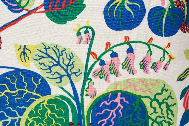 British Schumacher Josef Frank Exotic Butterfly Spring Color Two-Sided 18