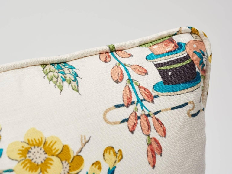 Traditional motifs come out to play in this cheerful Ming vase design that evokes a definitive mood with its color way. A Schumacher Classics pattern featured as a decorative accent, this is sure to bring a vibrant and timeless addition to any