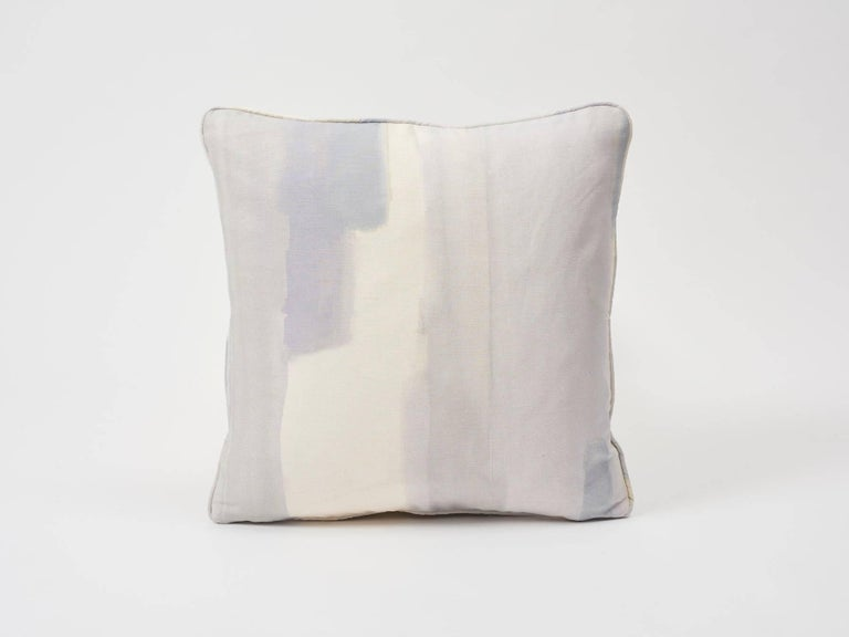 This is a beguiling and romantic Schumacher print, in collaboration with Miles Redd, inspired by the dreamy effect of watercolor hues softly bleeding into one another. Featured as a decorative accent, this is sure to bring a level of modern