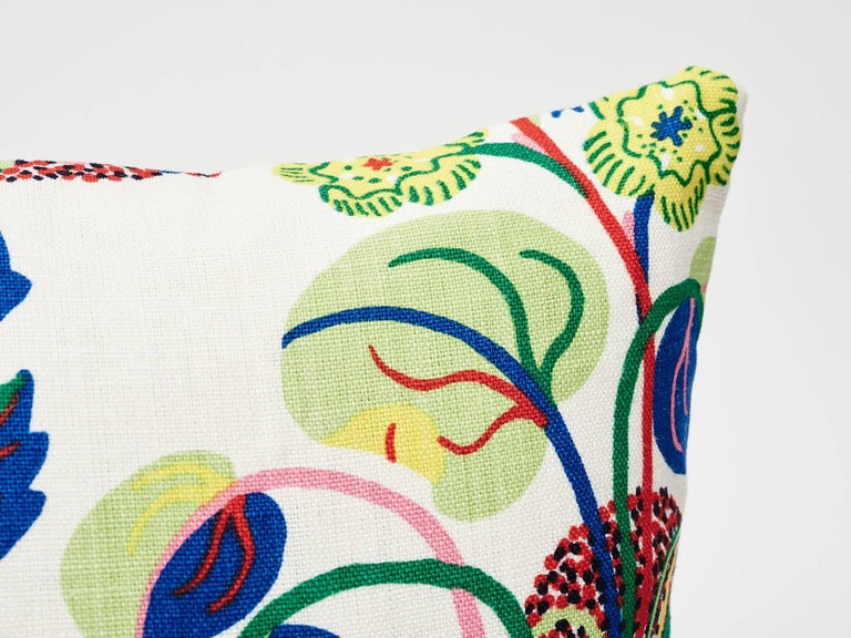 Contemporary Schumacher Josef Frank Exotic Butterfly Spring Two-Sided 18