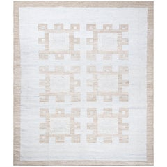 Schumacher Dimma Area Rug in Handwoven Viscose by Patterson Flynn Martin
