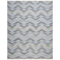 Schumacher Solona Area Rug in Hand Woven Viscose by Patterson Flynn Martin