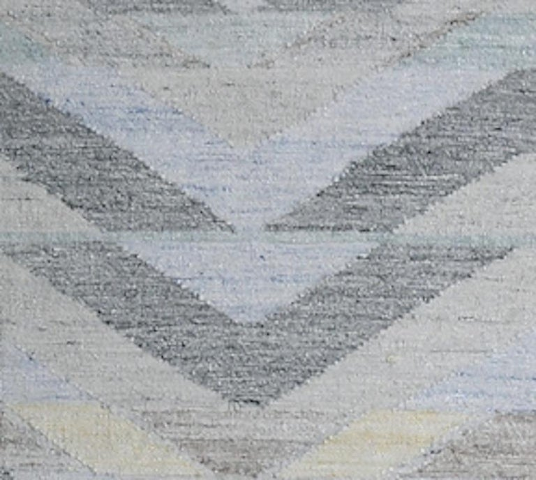 Indian Schumacher Solona Area Rug in Hand Woven Viscose by Patterson Flynn Martin For Sale