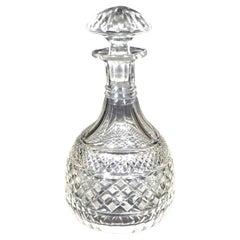 Fine Regency Period Anglo-Irish Cut Glass Magnum Decanter, England Circa 1825