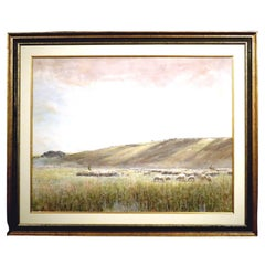 Fine 19th Century Pastoral Watercolor by Claude Hayes, Irish RI ROI RWS