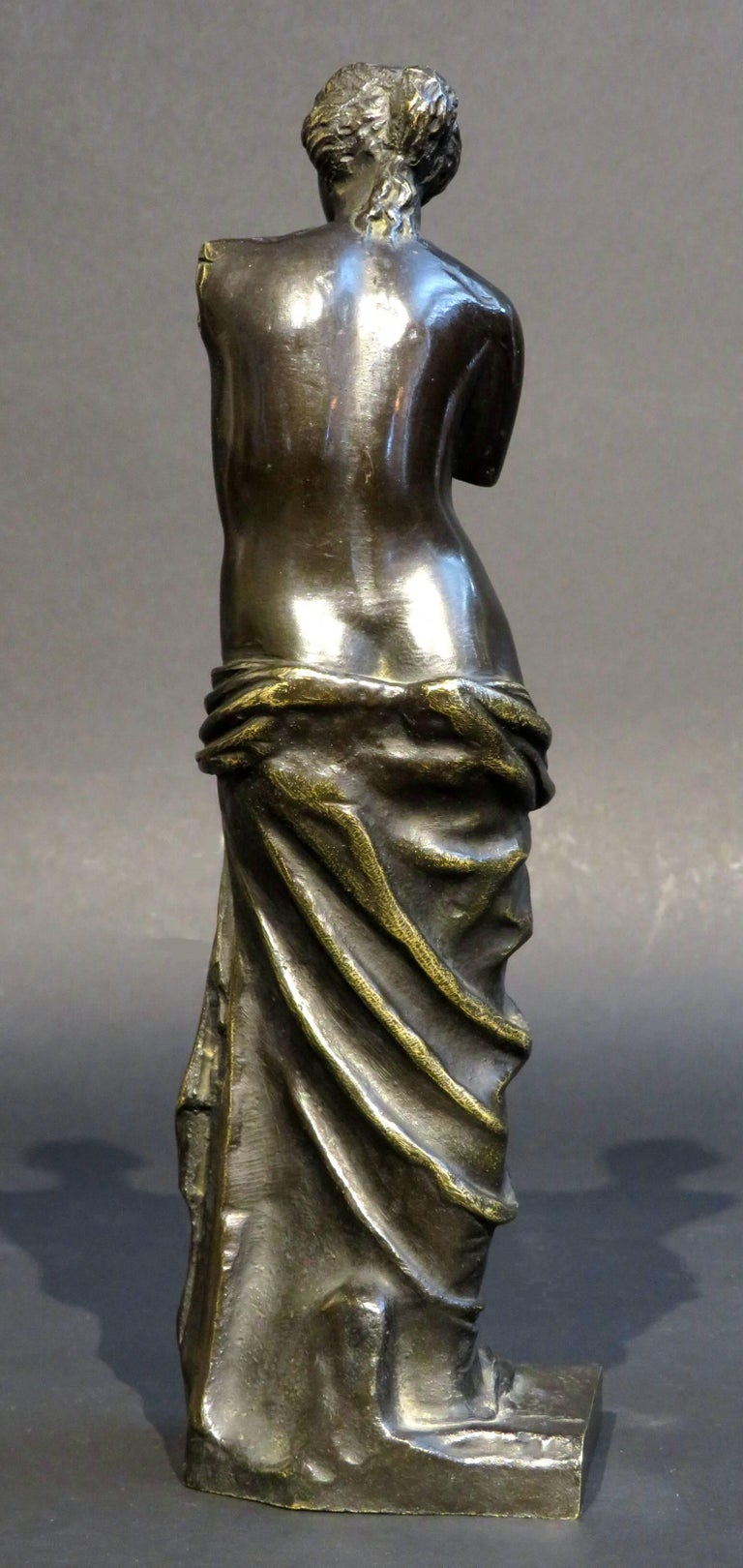 European A 19th Century Grand Tour Bronze of Venus De Milo, Continental Circa 1890 For Sale