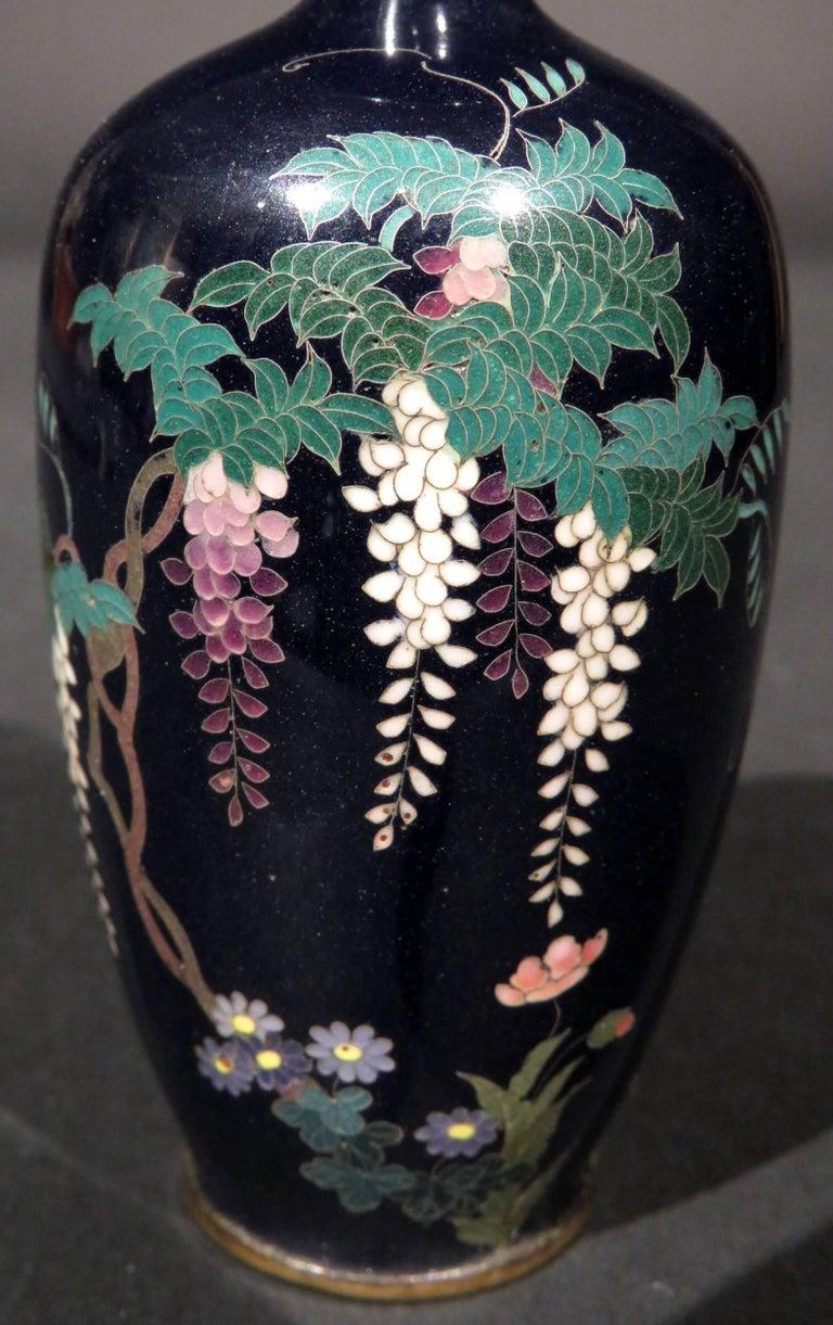 Fine japanese silver wire miniature cloisonne vase meiji period fine japanese silver wire miniature cloisonne vase meiji period 1868 1912 in reviewsmspy