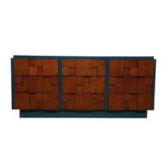 Two-Tone Brutalist Dresser by Lane