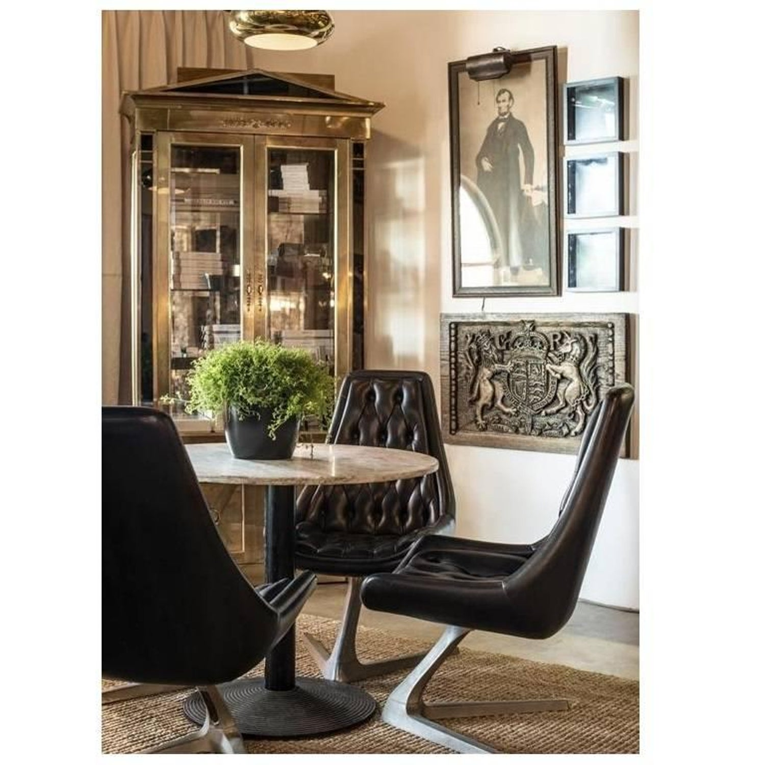 Mastercraft Empire Style Brass Vitrine Cabinet For Sale At 1stdibs