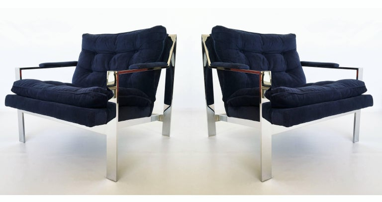 Cy Mann chrome lounge #232 