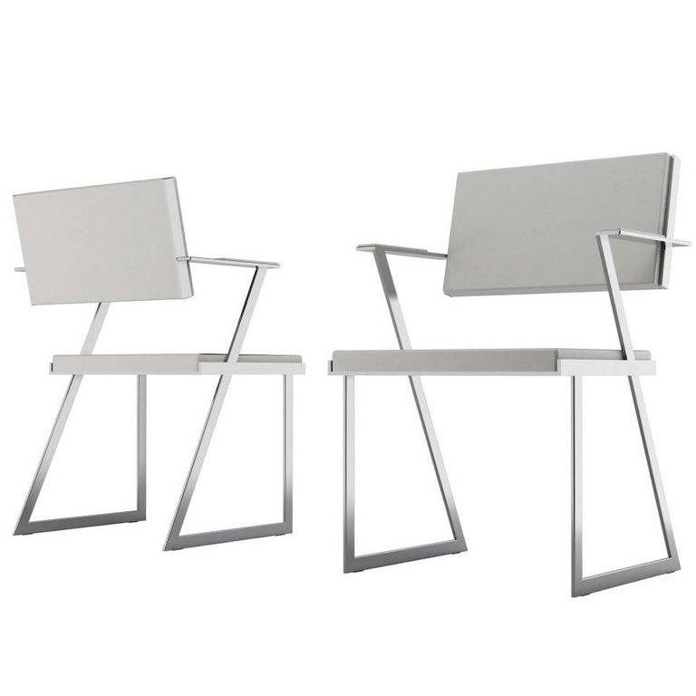 Post-Modern Modern Geometric Armchair