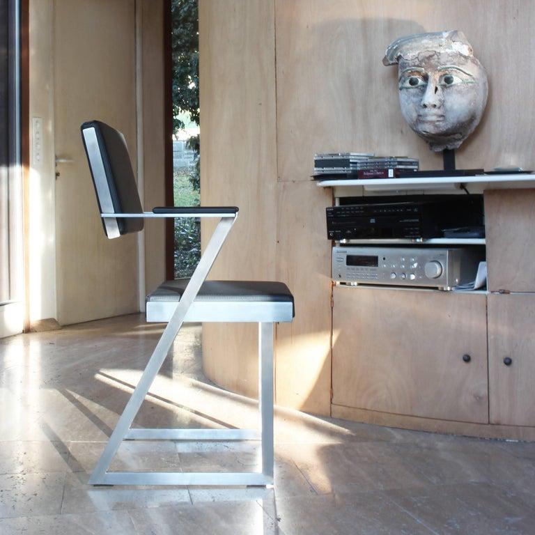 Modern Geometric Armchair