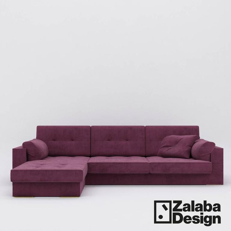 Modern Leather Sofa Made in Italy