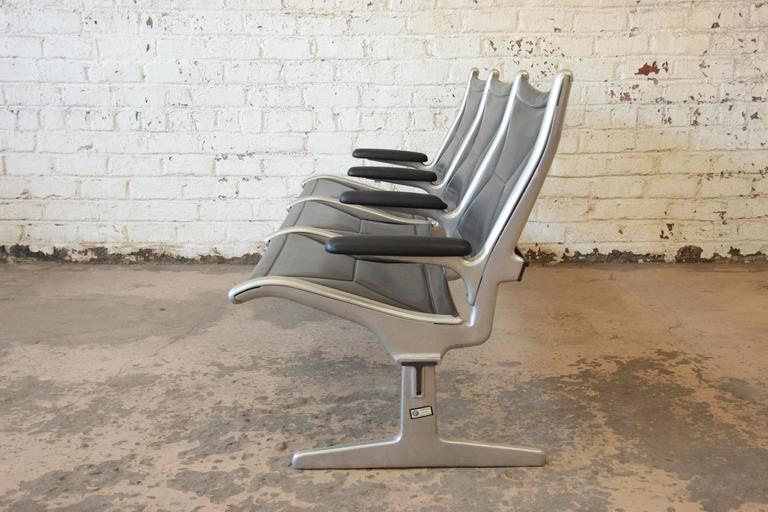 Eames For Herman Miller Tandem Sling Airport Bench For