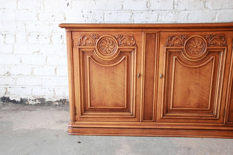 Henredon Custom Folio Two Collection French Country Sideboard For Sale At 1stdibs