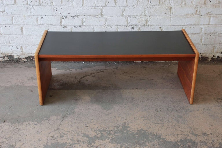 Jens Risom Mid Century Modern Coffee Table Or Bench For Sale At