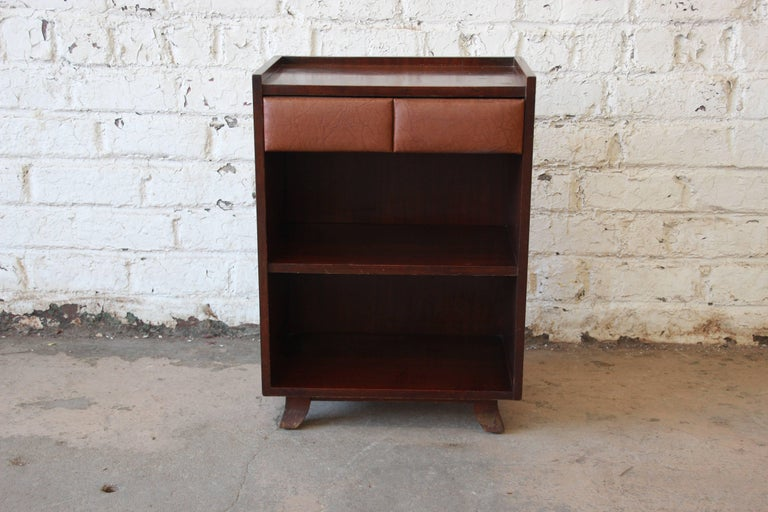 Gilbert rohde for herman miller art deco nightstand or end table