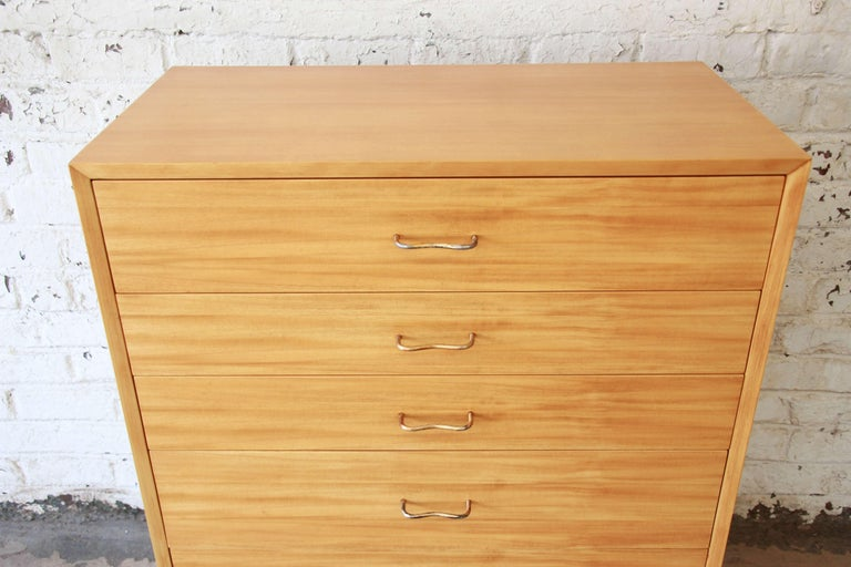 George Nelson for Herman Miller Highboy Dresser In Good Condition For Sale In South Bend, IN