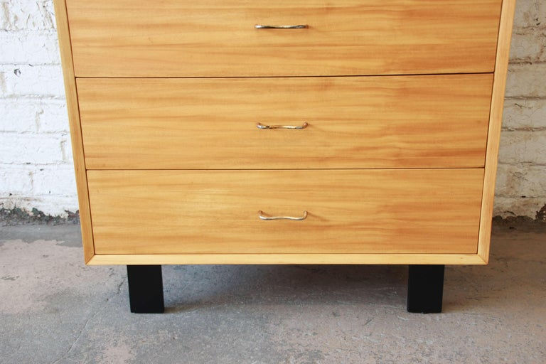 Mid-20th Century George Nelson for Herman Miller Highboy Dresser For Sale
