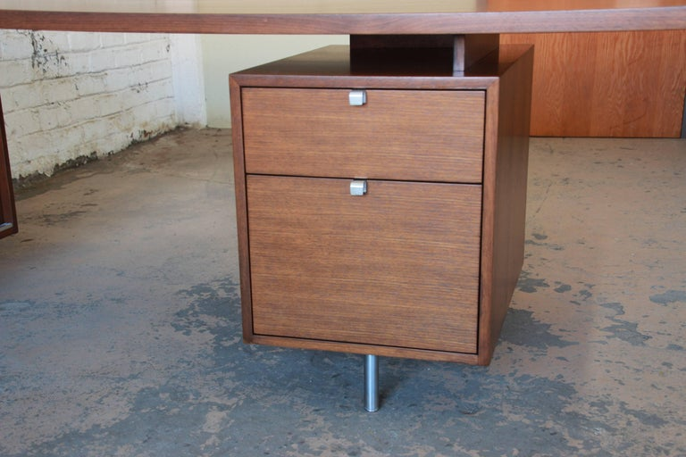 Mid-20th Century George Nelson for Herman Miller L-Shaped Executive Desk, 1950s For Sale
