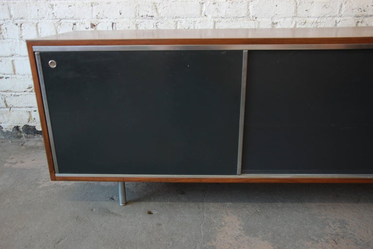George Nelson for Herman Miller L-Shaped Executive Desk, 1950s For Sale 1