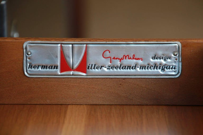 George Nelson for Herman Miller L-Shaped Executive Desk, 1950s For Sale 10