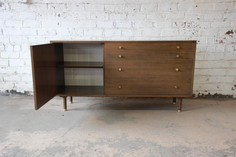 American Harvey Probber Mid-Century Modern Mahogany Credenza For Sale