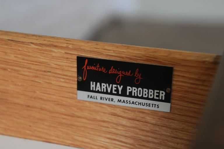 Harvey Probber Mid-Century Modern Mahogany Credenza For Sale 5