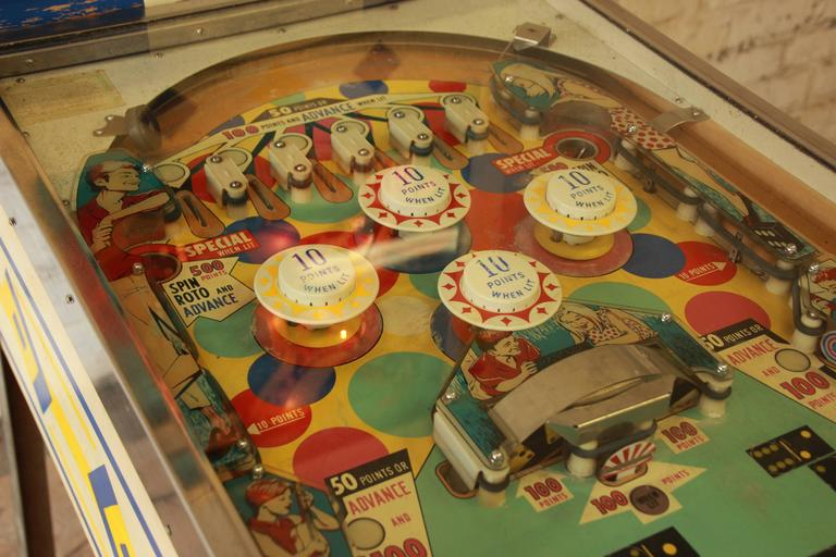 1968 Gottlieb Domino Pinball Machine At 1stdibs