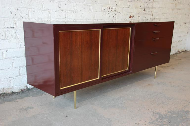American Harvey Probber Mid-Century Modern Credenza or Dresser For Sale