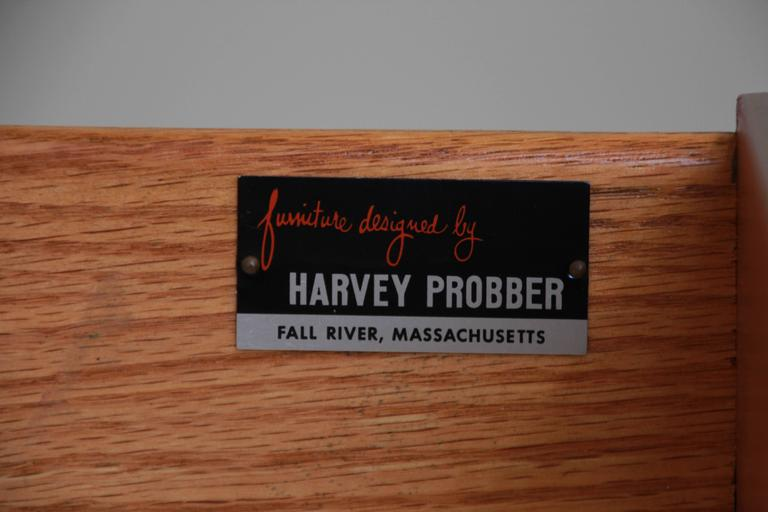 Harvey Probber Mid-Century Modern Credenza or Dresser For Sale 4