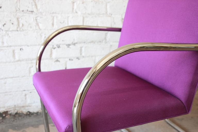 20th Century Pair of Mies Van Der Rohe Brno Chairs for Knoll International