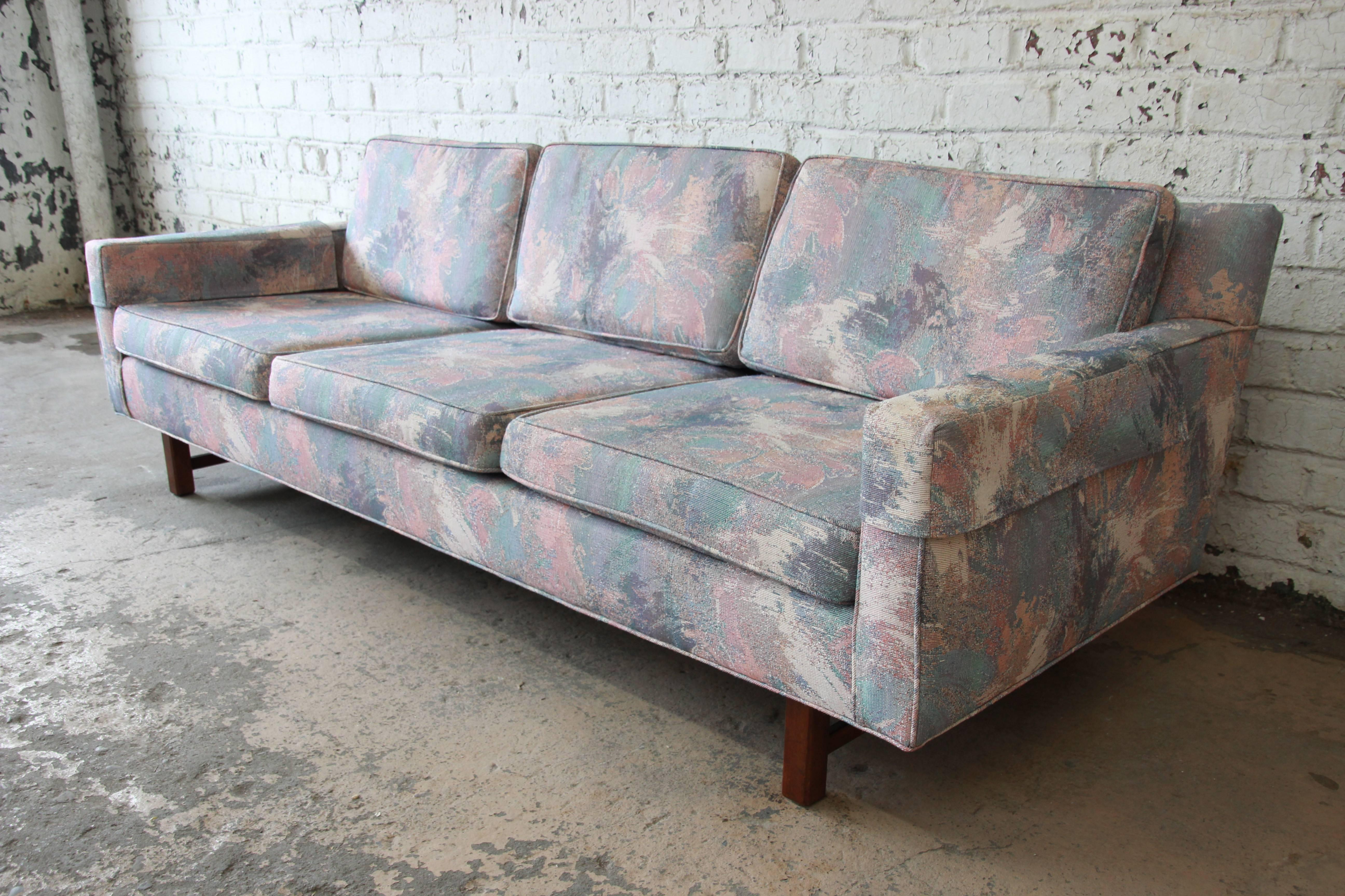 An Outstanding Mid Century Modern Low Profile Sofa Attributed To Edward  Wormley For Dunbar Furniture