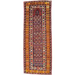 Mid-19th Century Kuba Long Prayer Rug