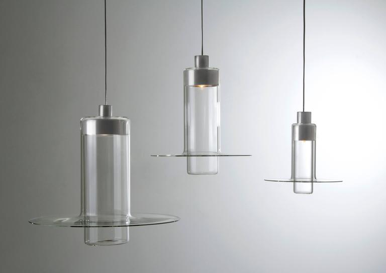 Sleeve Large by John Pawson, Handmade Glass Cylinder, Contemporary Design For Sale 1