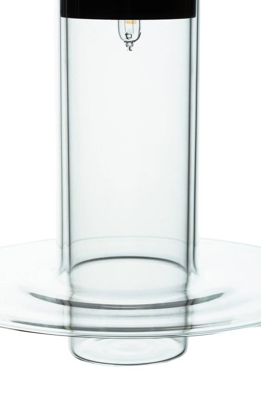 Italian Sleeve Large by John Pawson, Handmade Glass Cylinder, Contemporary Design For Sale
