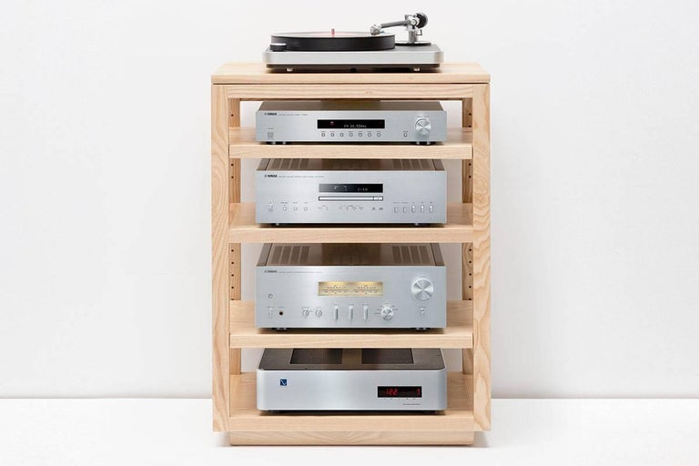 Dovetail Audio Rack Deep For At, Audio Furniture Racks And Cabinets