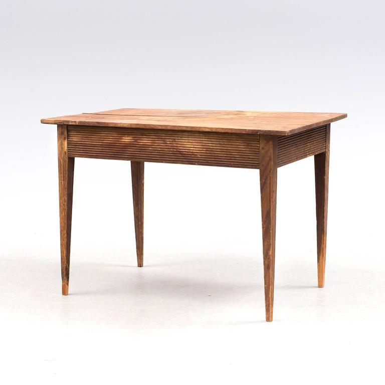 18th Century Swedish Folk Art Table 3