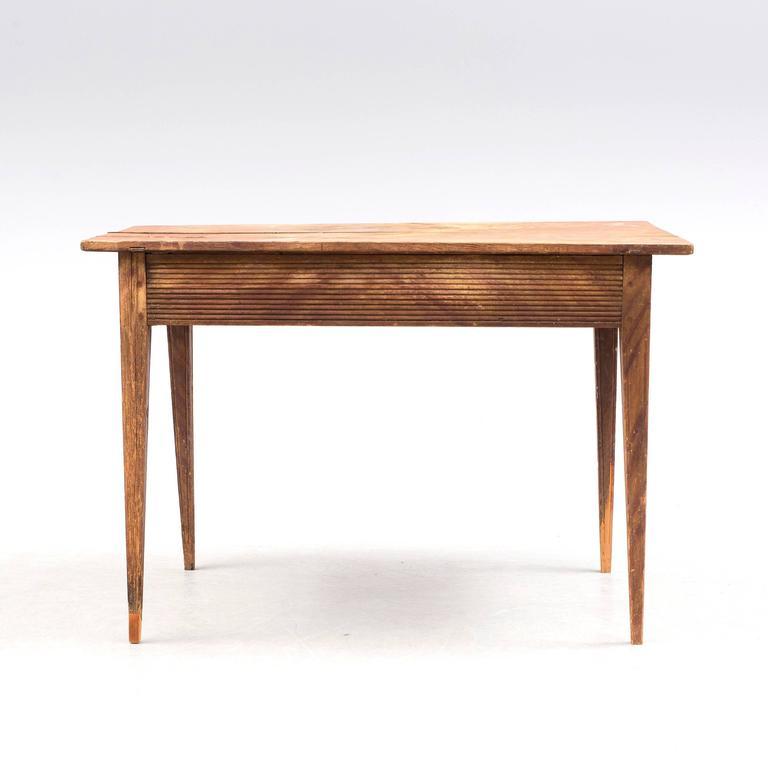 18th Century Swedish Folk Art Table 2