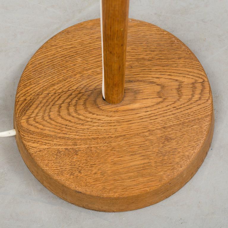 Swedish Scandinavian Modern Floor Lamp by Uno & Osten Kristiansson for Luxus in Sweden For Sale