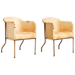 Mats Theselius 'Ambassad' Armchairs for Källemo Sweden, Set of Four