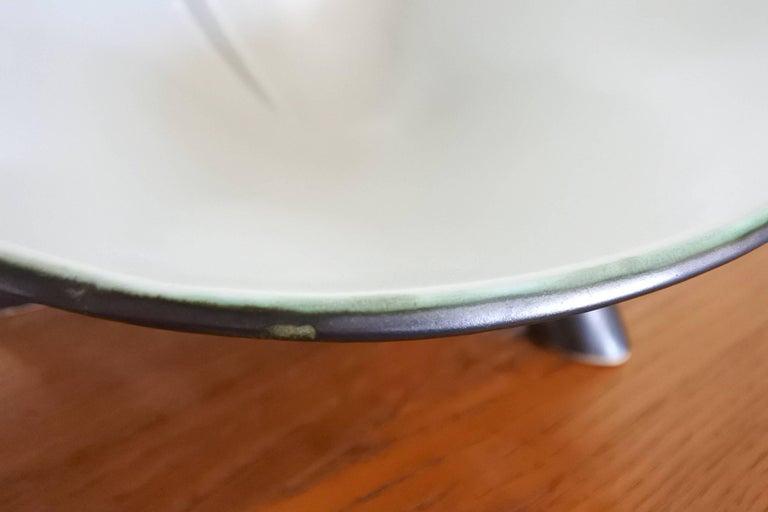 French Tripod Ceramic Dish, Mid-Century, 1950s In Excellent Condition For Sale In La Teste De Buch, FR