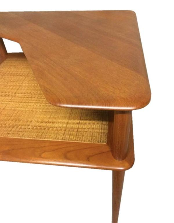 Danish Solid Teak Coffee Table, Hvidt & Mølgaard-Nielsen for France & Søn, 1960s 2