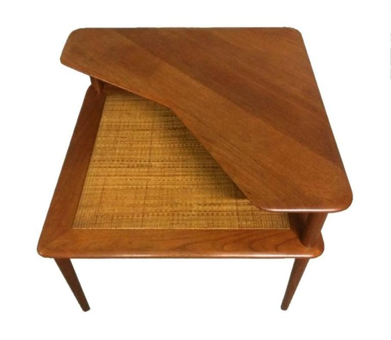 Danish Solid Teak Coffee Table, Hvidt & Mølgaard-Nielsen for France & Søn, 1960s 4