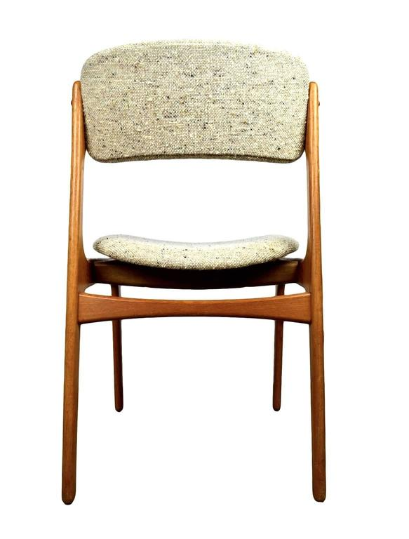 Danish Mid-Century Teak Dining Chairs OD-49 by Erik Buck for O.D. Møbler, 1960s 2