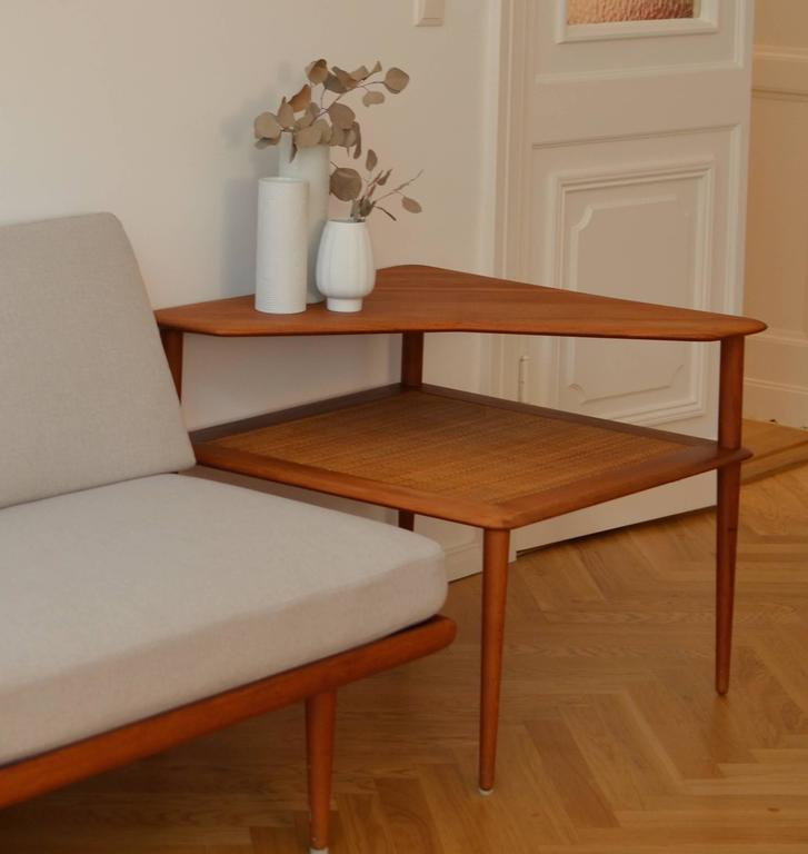 Danish Solid Teak Coffee Table, Hvidt & Mølgaard-Nielsen for France & Søn, 1960s 6